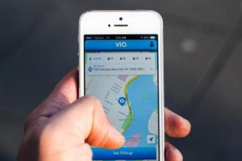 Via attracts financing, despite Silicon Valley's nervousness about ride sharing