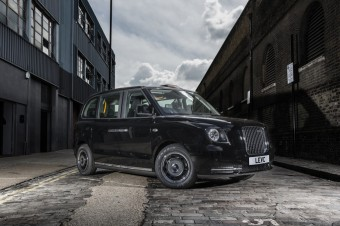 New electric London taxi unveiled; LTC becomes LEVC and sells first 225 cabs to Rotterdam's RMC