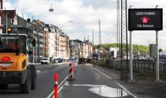 Bluetooth technology reveals traffic anomalies in major Danish city