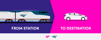 Amtrak and Lyft Announce Rideshare Partnership